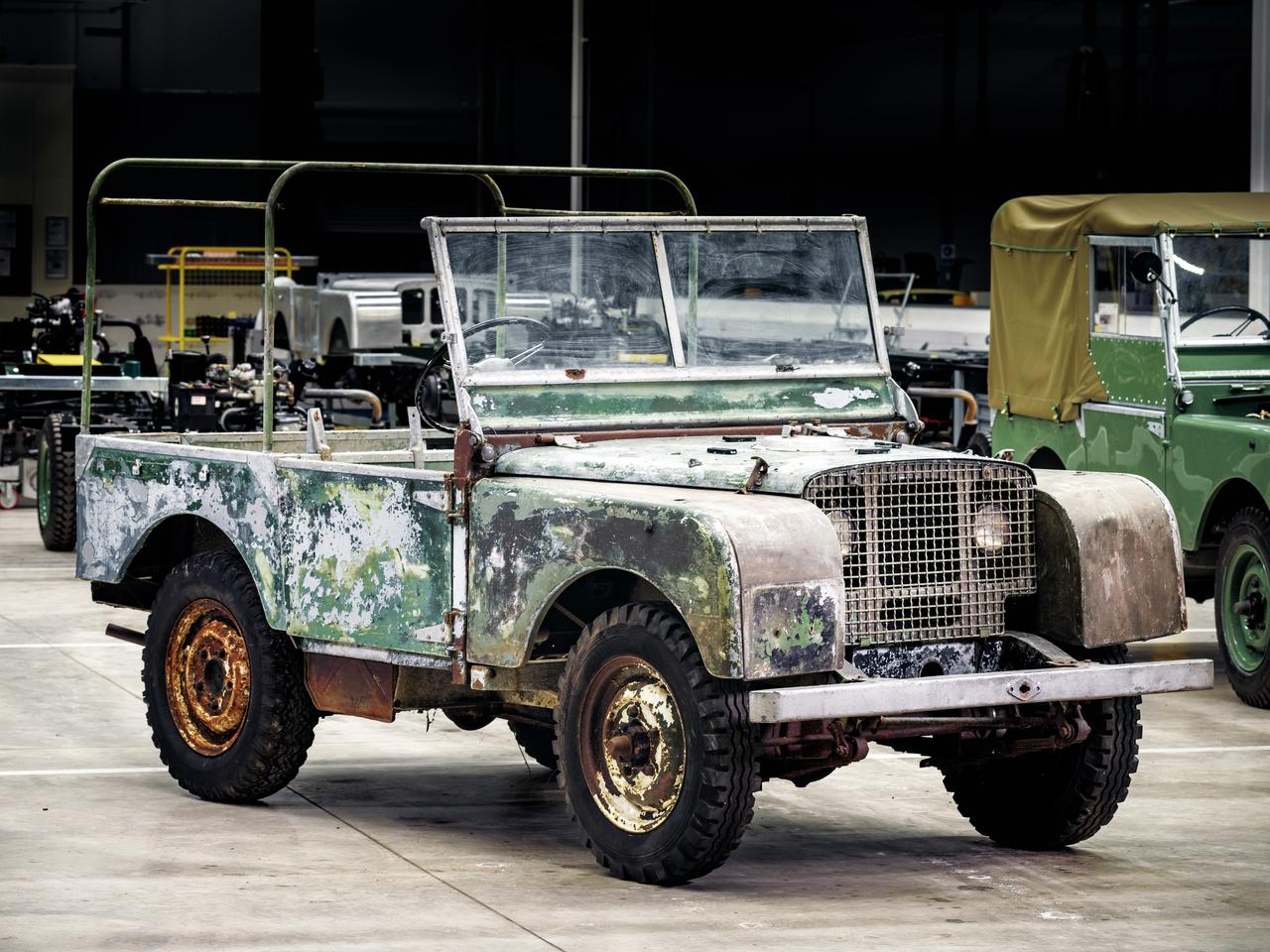 It doesn't look great now, but Jaguar Land Rover Classic is going to give it some love