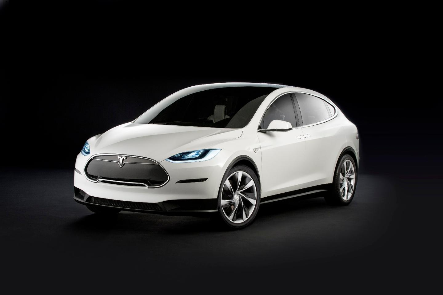 Tesla will offer two different drivetrains on the Model X, including a P90D with Ludicrous mode