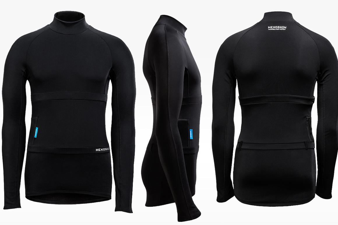 Unlike its original wearable, Hexoskin's new Arctic shirt is designed for use in cold weather