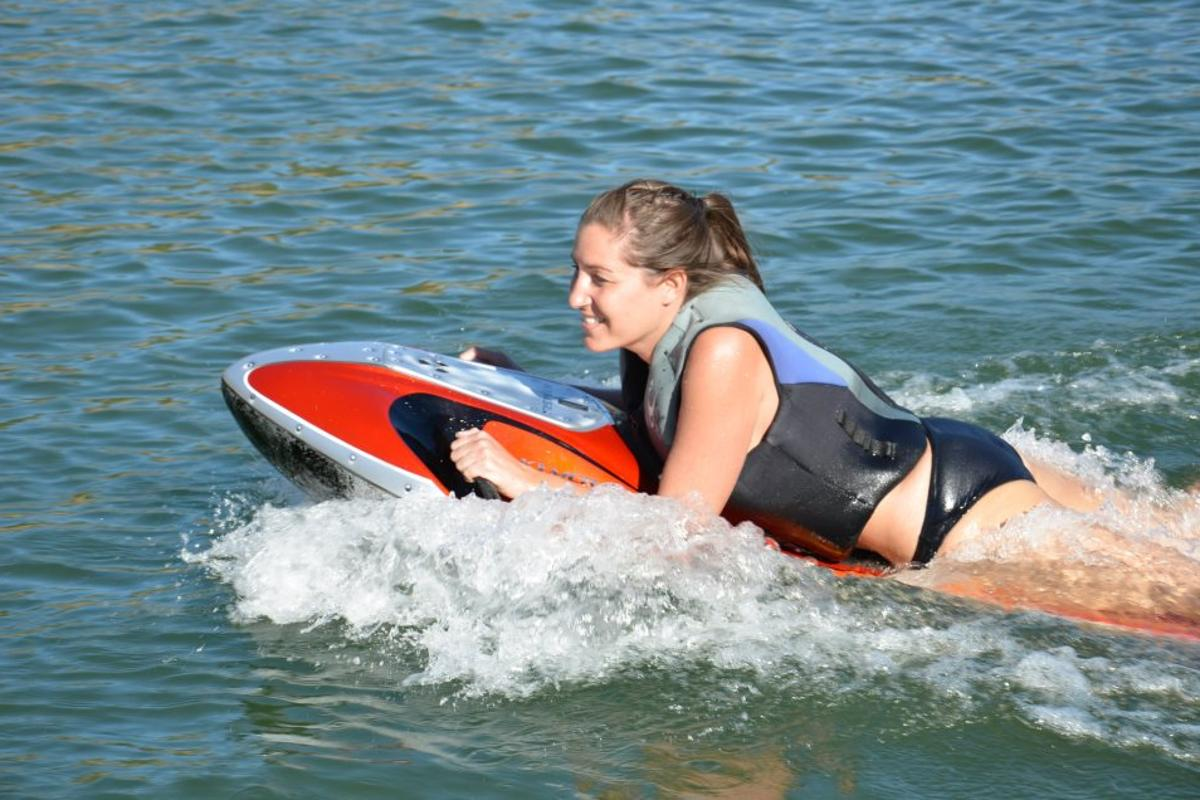 The Kymera electric powered body board can be yours for as little as $2,500
