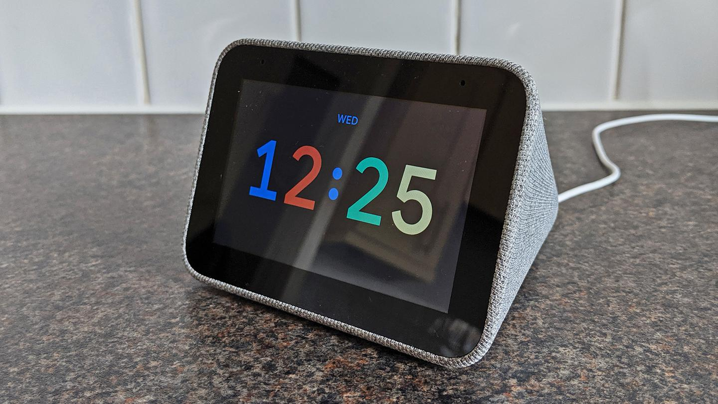 The Lenovo Smart Clock has a variety of clock faces to pick from