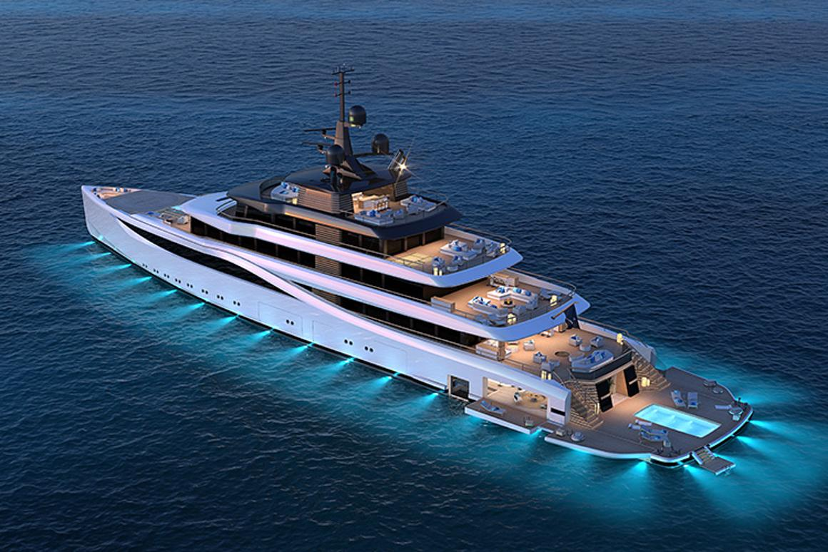 With two folding decks on each size, the Slipstream offers a huge indoor/outdoor beach club for enjoying the water