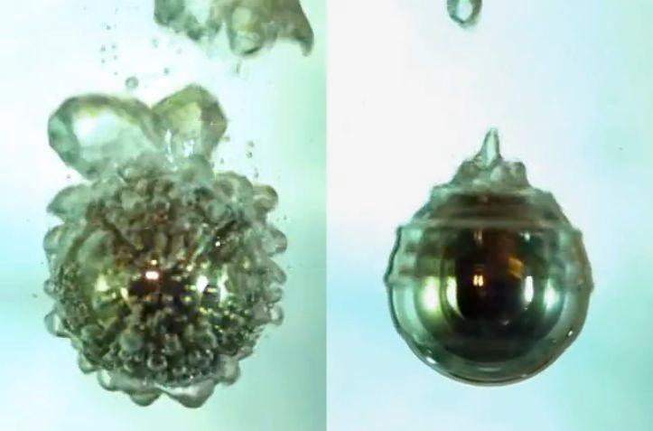 Violent bubbling in boiling water may just be a thing of the past (Image: Northwestern University/Nature)