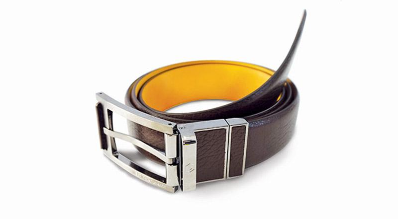Welt is a smart belt that monitors the user's waist size, eating habits, steps taken and the time they spend sitting down
