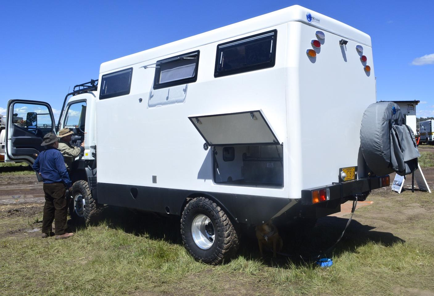 EarthCruiser's new fixed roof saves buyers a bit of money