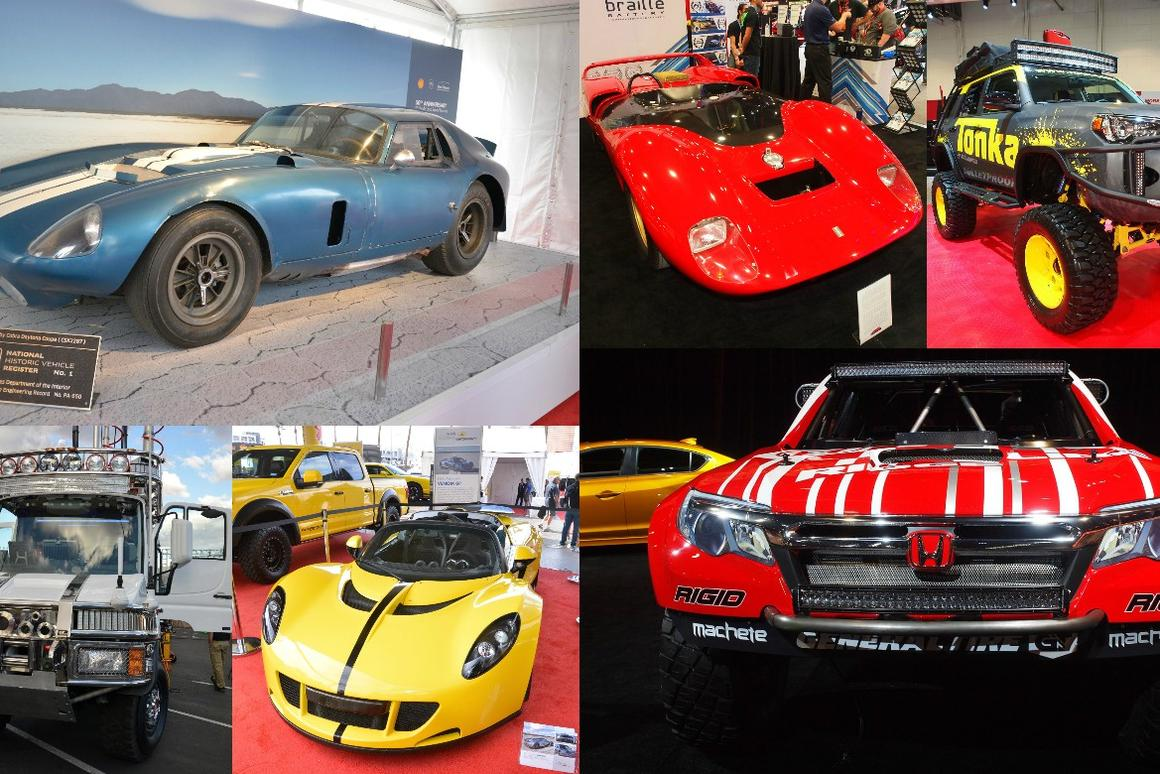 A look at some highlights of SEMA 2015