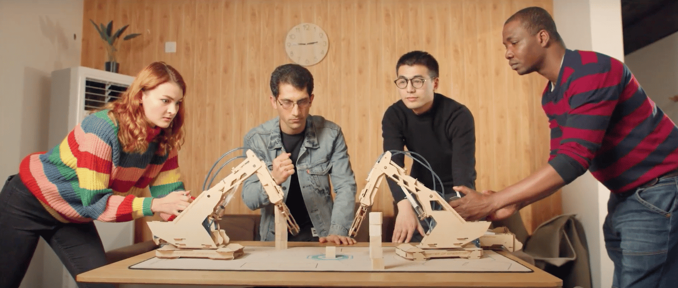 ArmPal is a new robot arm construction kit that can be used for tabletop games