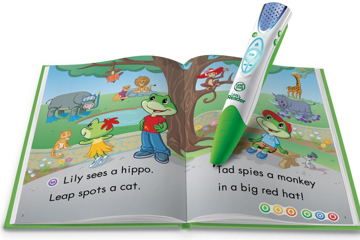 The LeapFrog LeapReader id designed to help children learn how to read and write