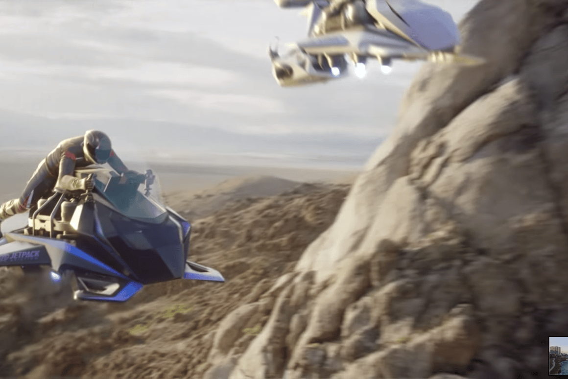 Jetpack Aviation is taking orders now on its US$380,000 jet turbine-powered flying motorcycl;e