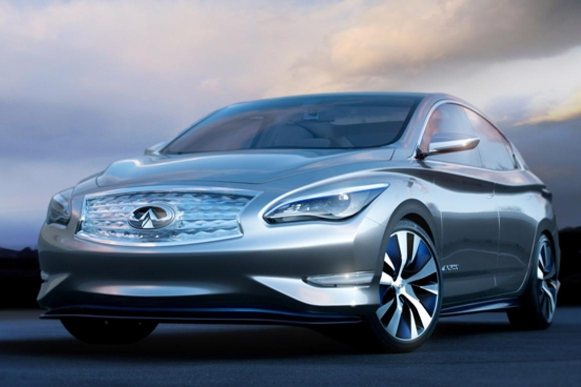 The Infiniti LE is more than just a concept; it will be Infiniti's first zero emissions vehicle