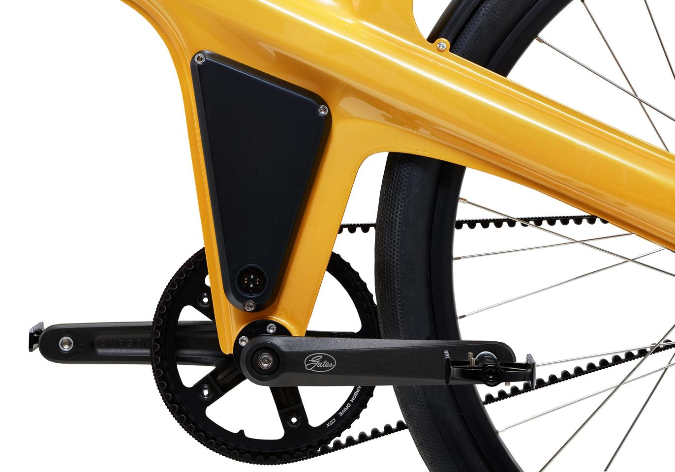 The Delta S features a zero maintenance Gates Carbon Belt Drive
