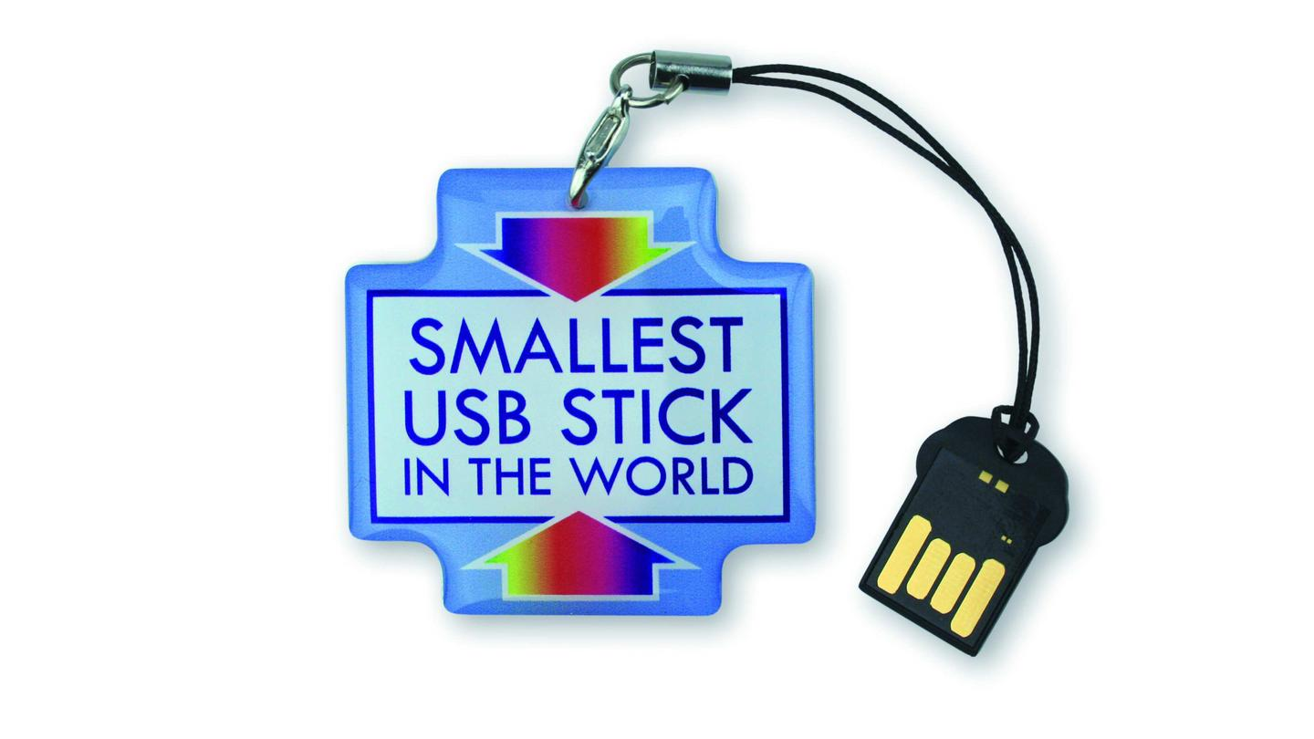 Dutch manufacturer Deonet is to launch the world's smallest USB storage stick in January