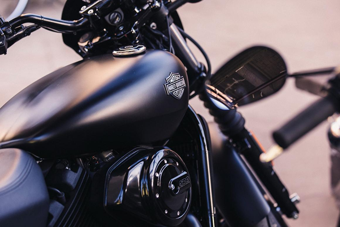 The hoglet: Harley-Davidson's Street 500