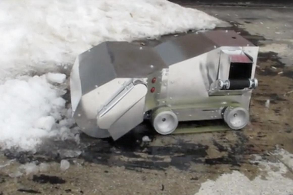 The first SnowBYTE prototype put to the test