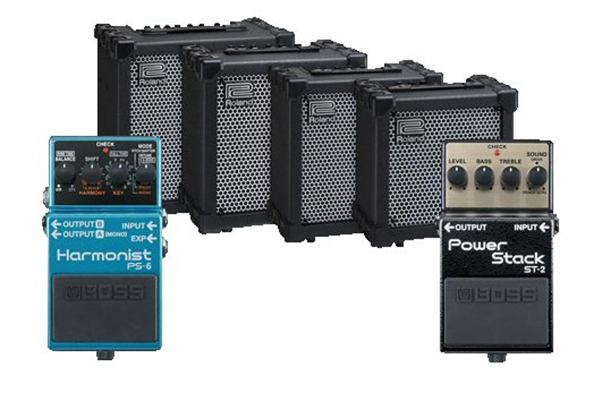 Roland has announced four new additions to its popular Cube guitar amp family and two new BOSS effects pedals