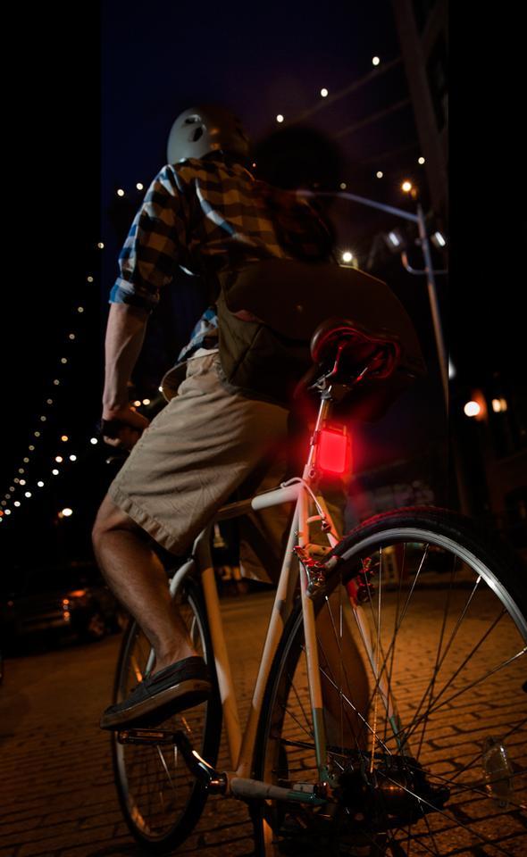 The PowerLight Mini becomes a bike light