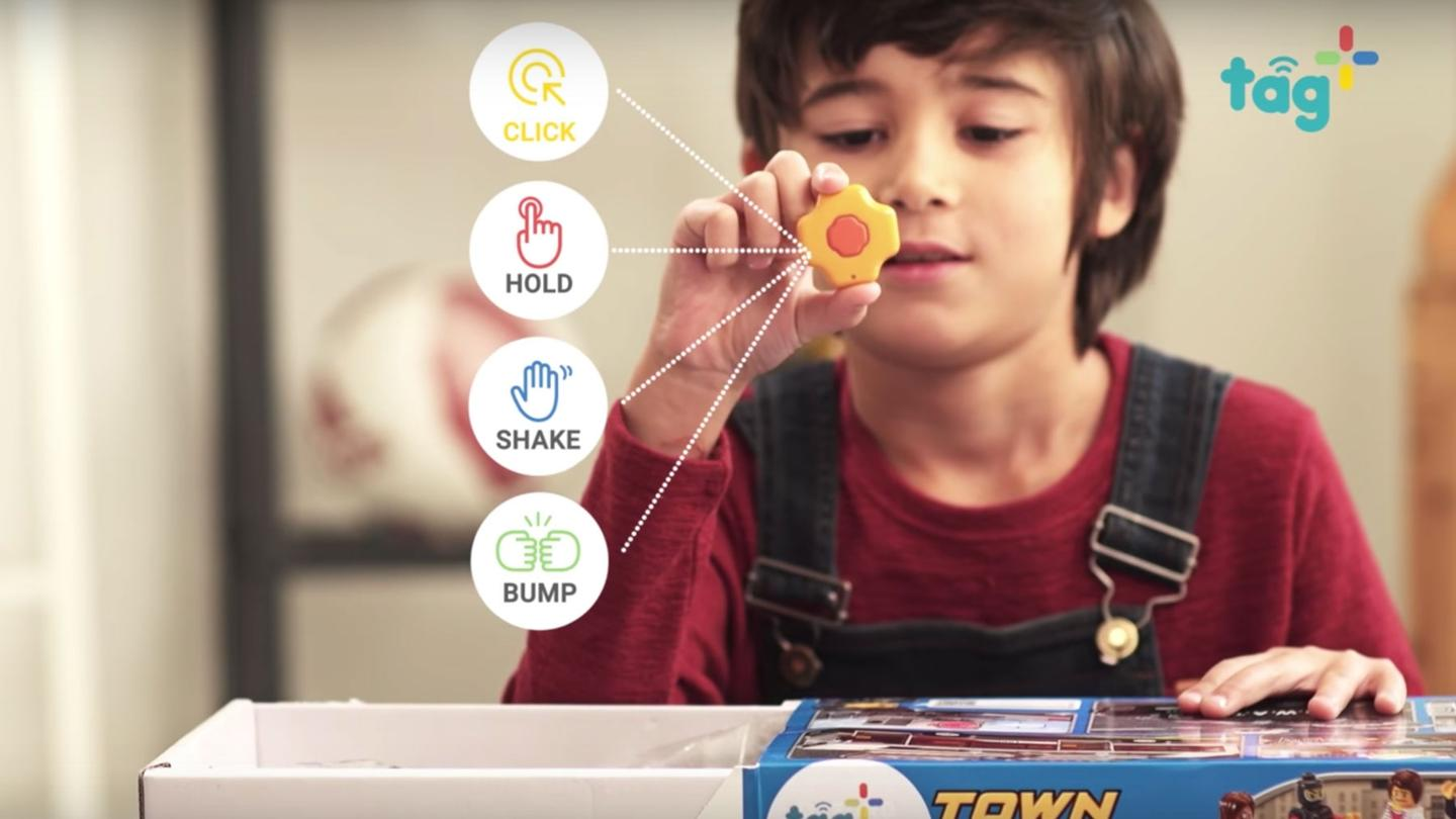 Tag+ makes your kids' toys part of the Internet of Things