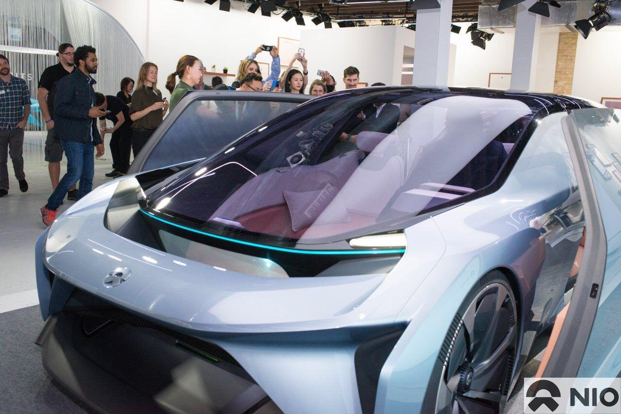 """NIO debuted a full-size Eve """"vision car"""" at SXSW earlier this month"""
