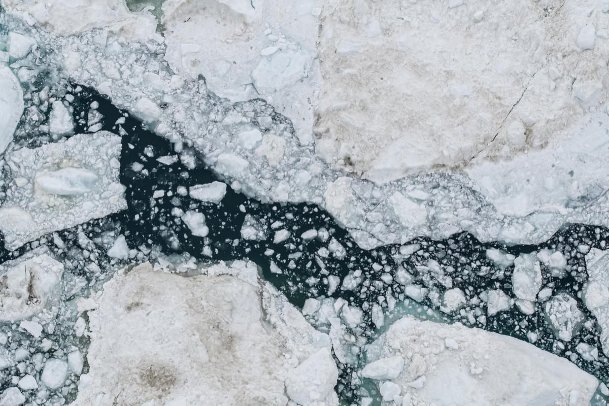 A new study has found unexpectedly high levels of mercury in meltwater from glaciers in Greeland