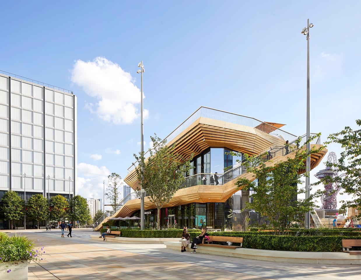 The Pavilion includes