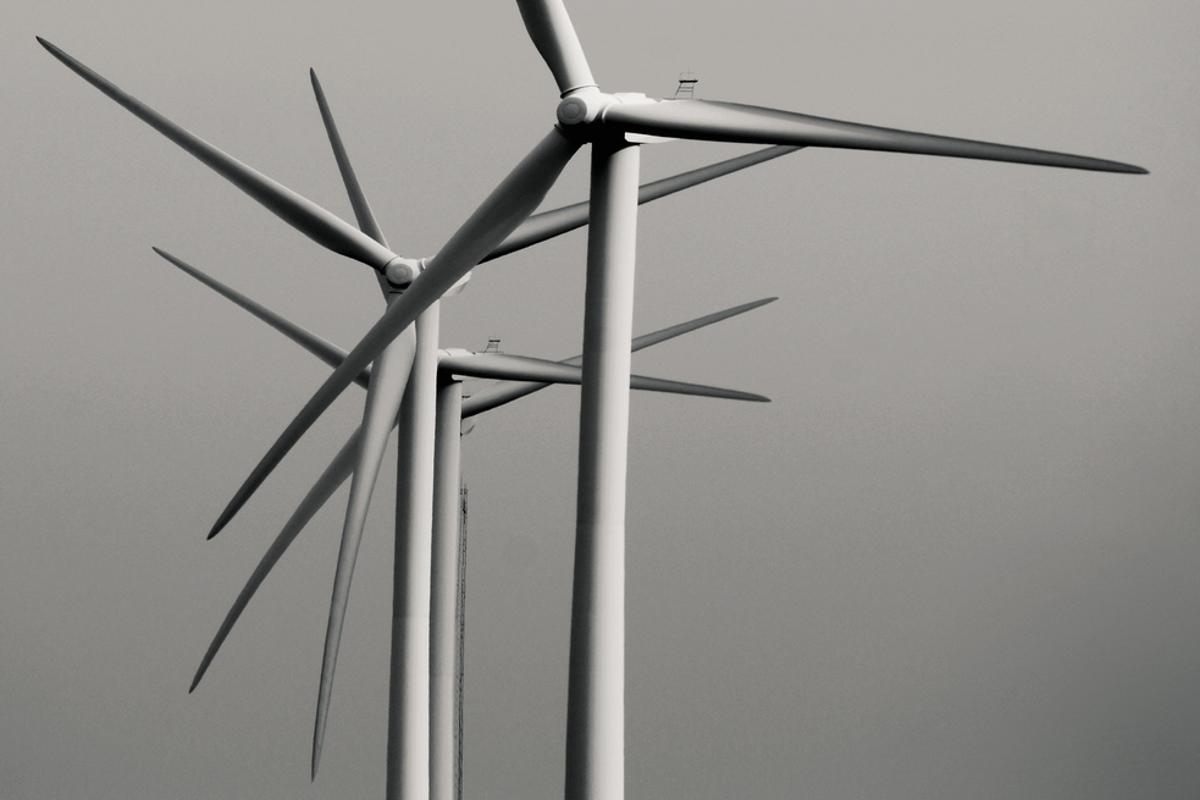 The battery is designed to even out power from renewable sources such as wind (Photo: Jon Smith)