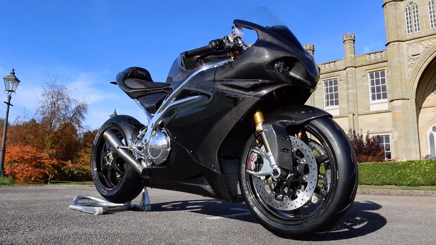Norton V4 RR: carbon everything gives a dry weight of just 179kg