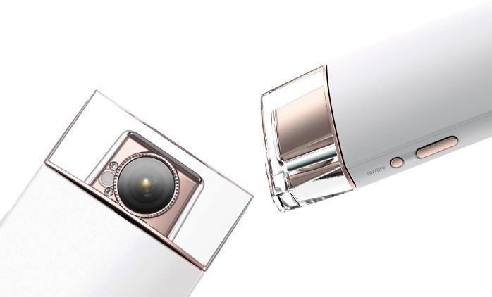 The Sony KW1 looks like a perfume bottle, but acts like a camera