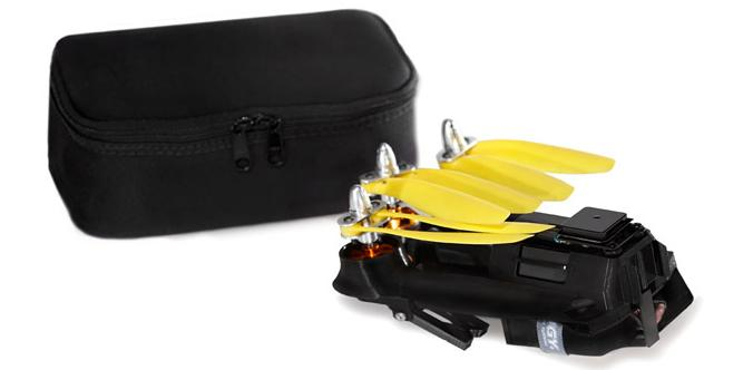 The Pocket Drone comes with a carrying case