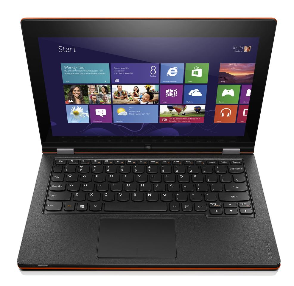 The Yoga 11S in laptop mode