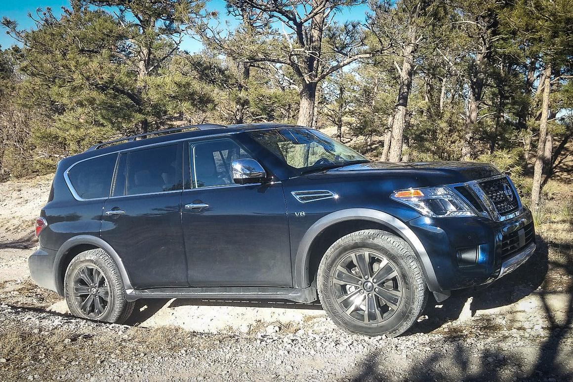 Review: 2017 Nissan Armada walks the big walk inside and out