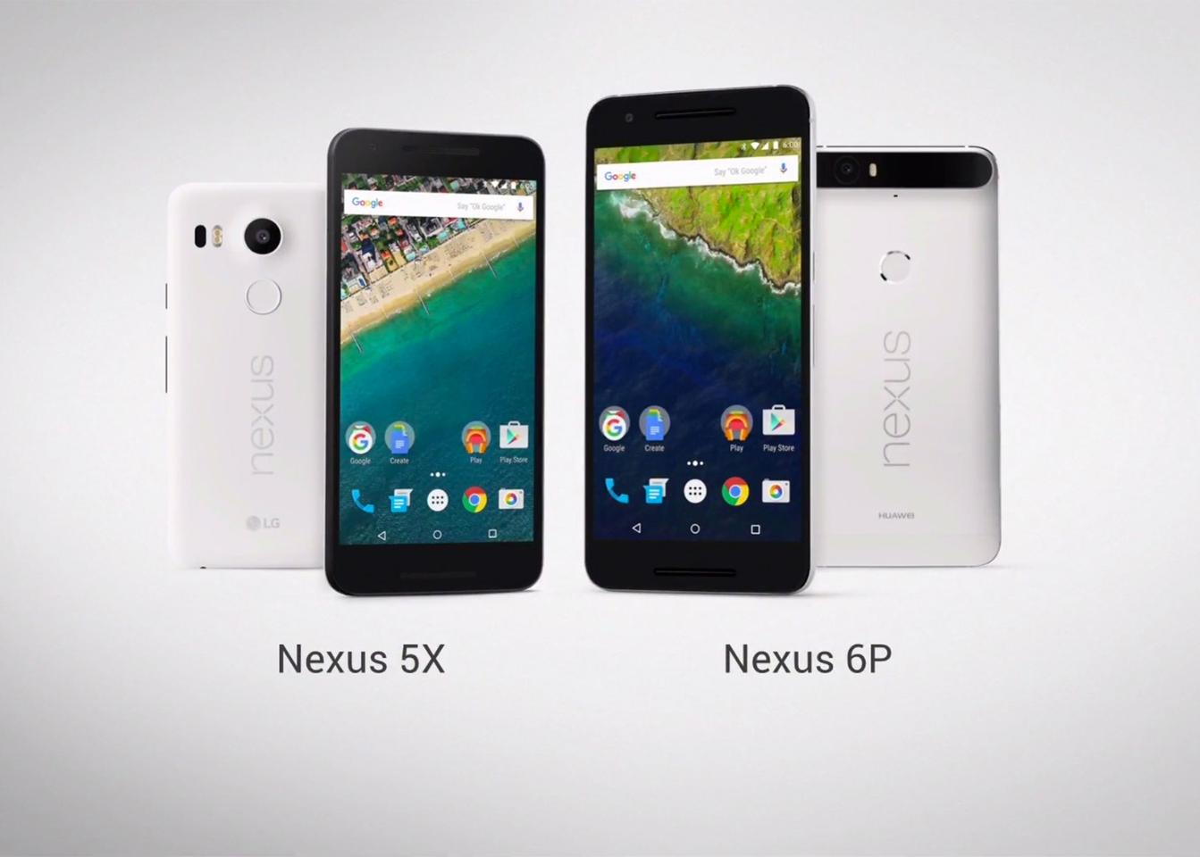 Google's new Nexus phones, courtesy of LG and Huawei