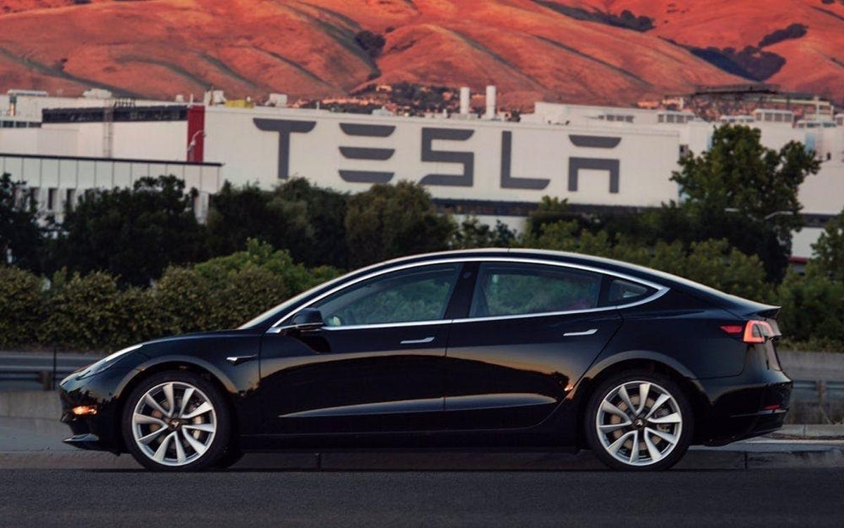 Tesla says  gross margin on the Model 3 has turned from slightly negative to slightly positive