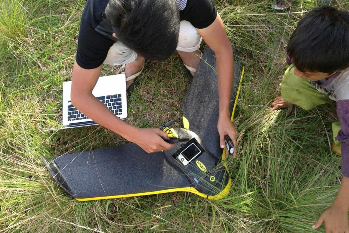 The Monkeybar project is using drones to gain a better understanding of malaria outbreaks in Southeast Asia (Photo: Kimberly Fornace/LSHTM)