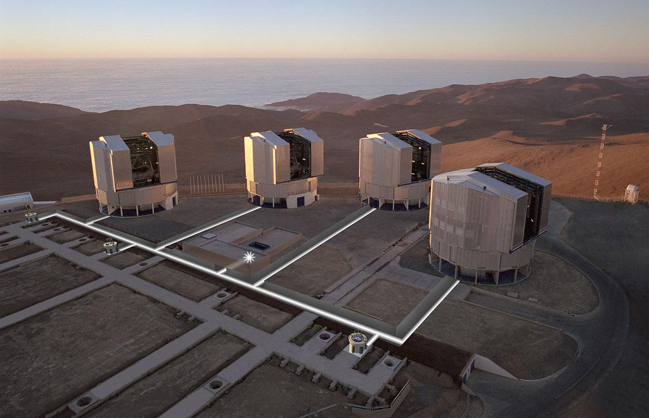 The Very Large Telescope (VLT) in Chile