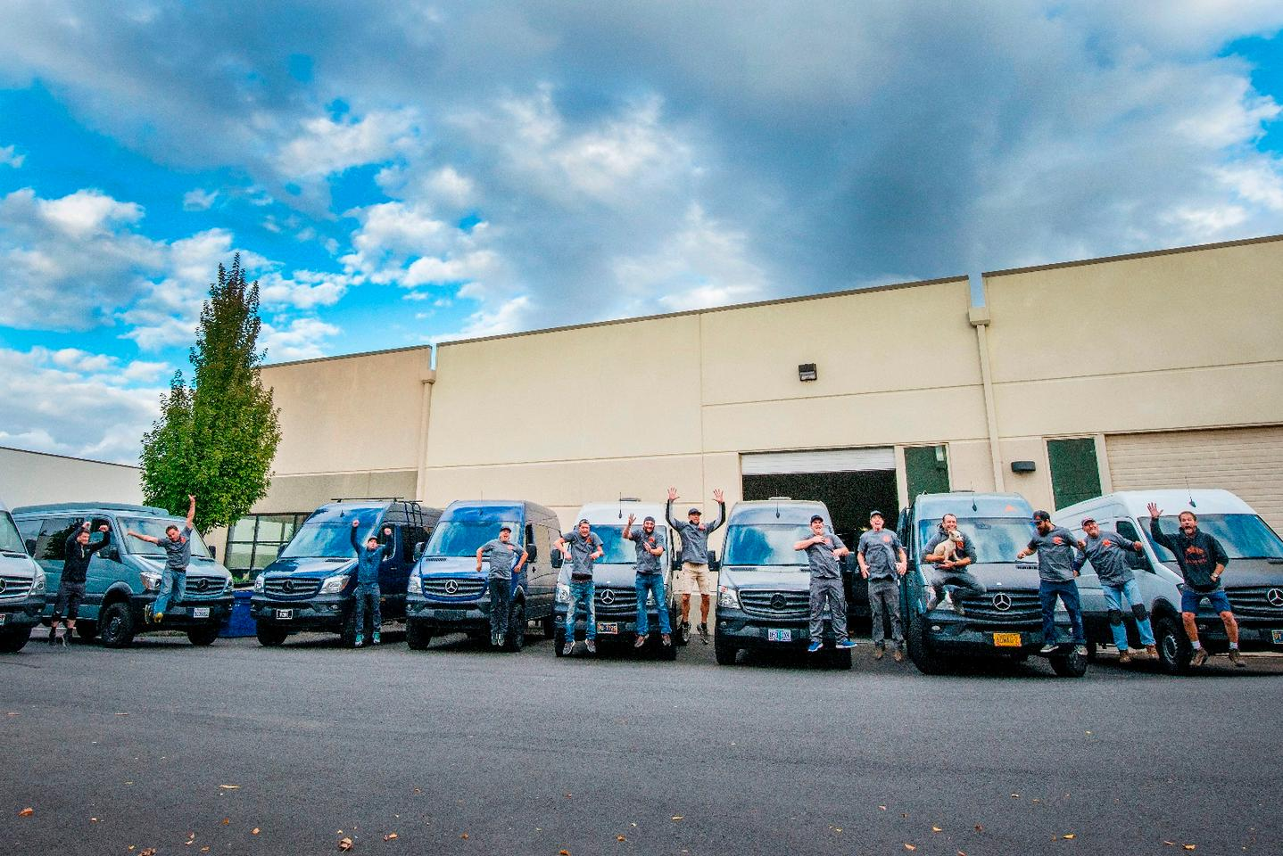 Adventure Wagon recently held a van building workshop at its Oregon  headquarters