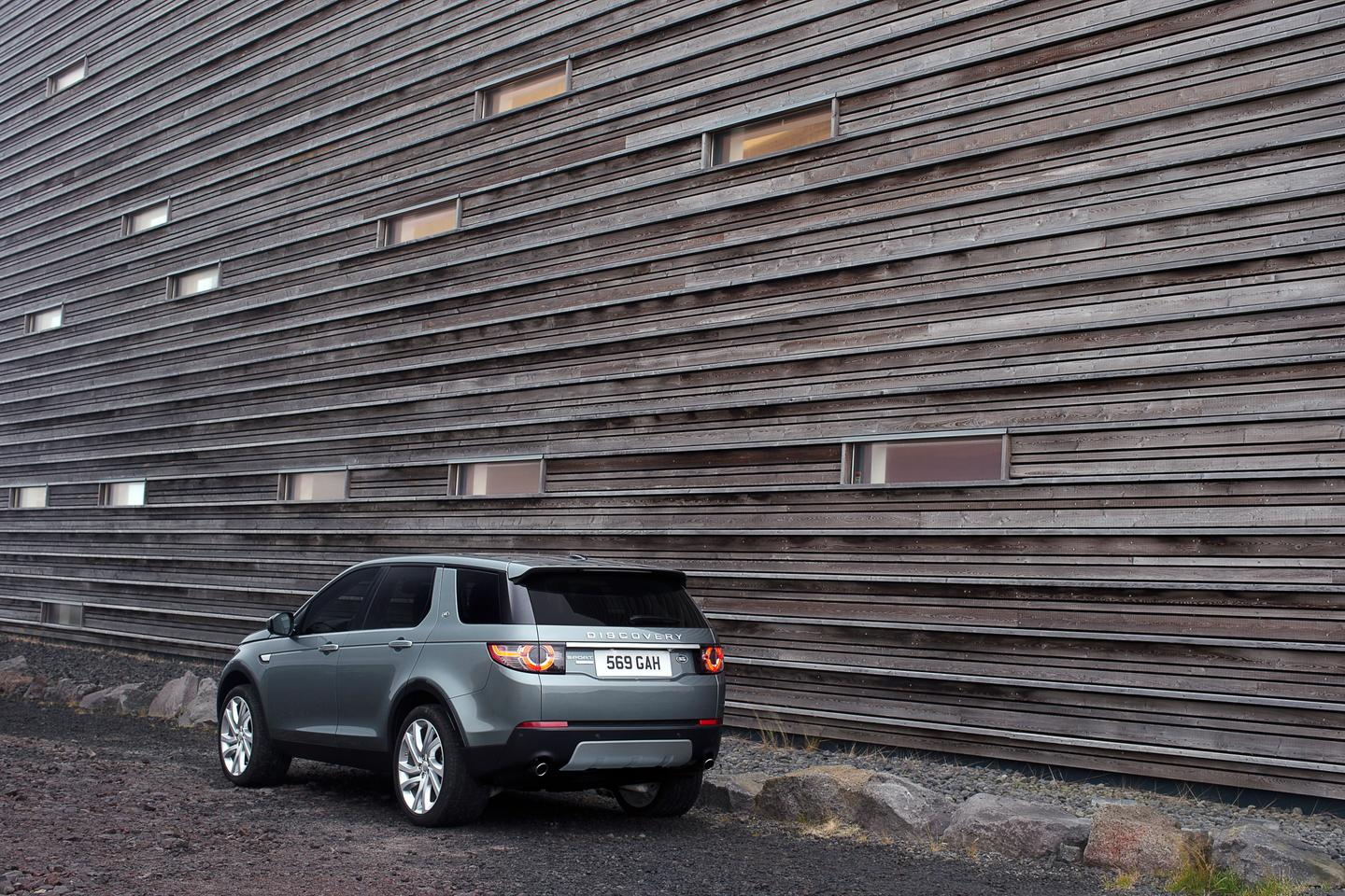 The Land Rover Discovery Sport is available in 2015