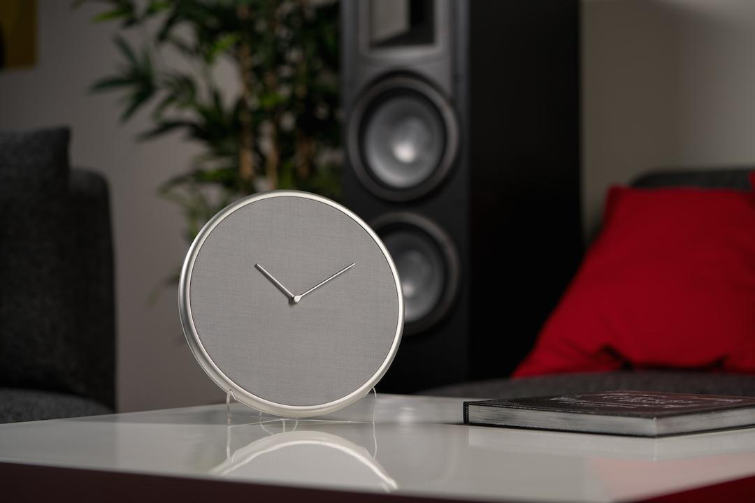 The Glance Clock is designed to look like a modern, stylish update to an appliance as old as time