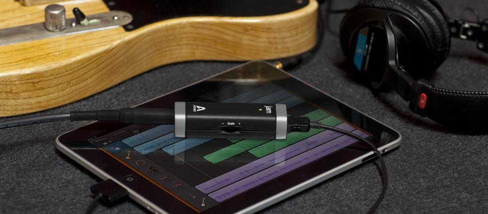 JAM by Apogee is said to be the first instrument interface that makes a digital connection to an iPad, iPhone, and iPod touch, and the only one that also works on a Mac