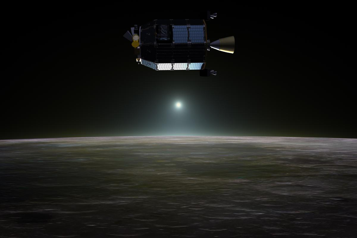 LADEE will continue operations until impact around April 21 (Image: NASA)