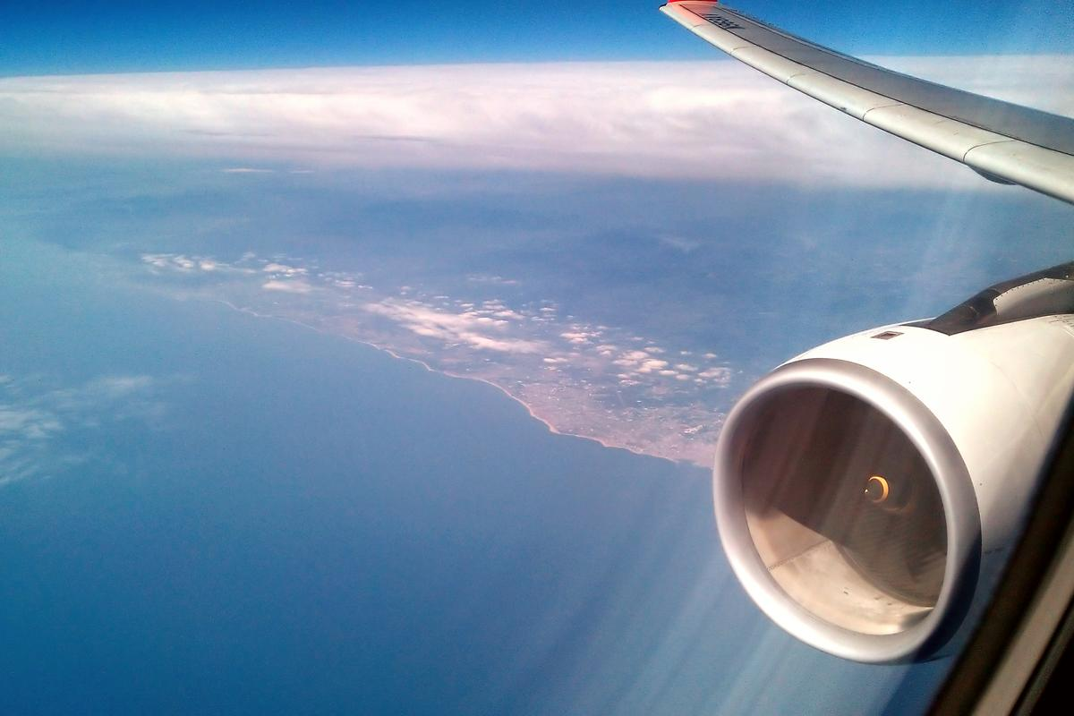 Titanium aluminide, created using hypergravity, would reduce the weight of jet trbine blades by over 45 percent (Photo: A. Rueda via Flickr)