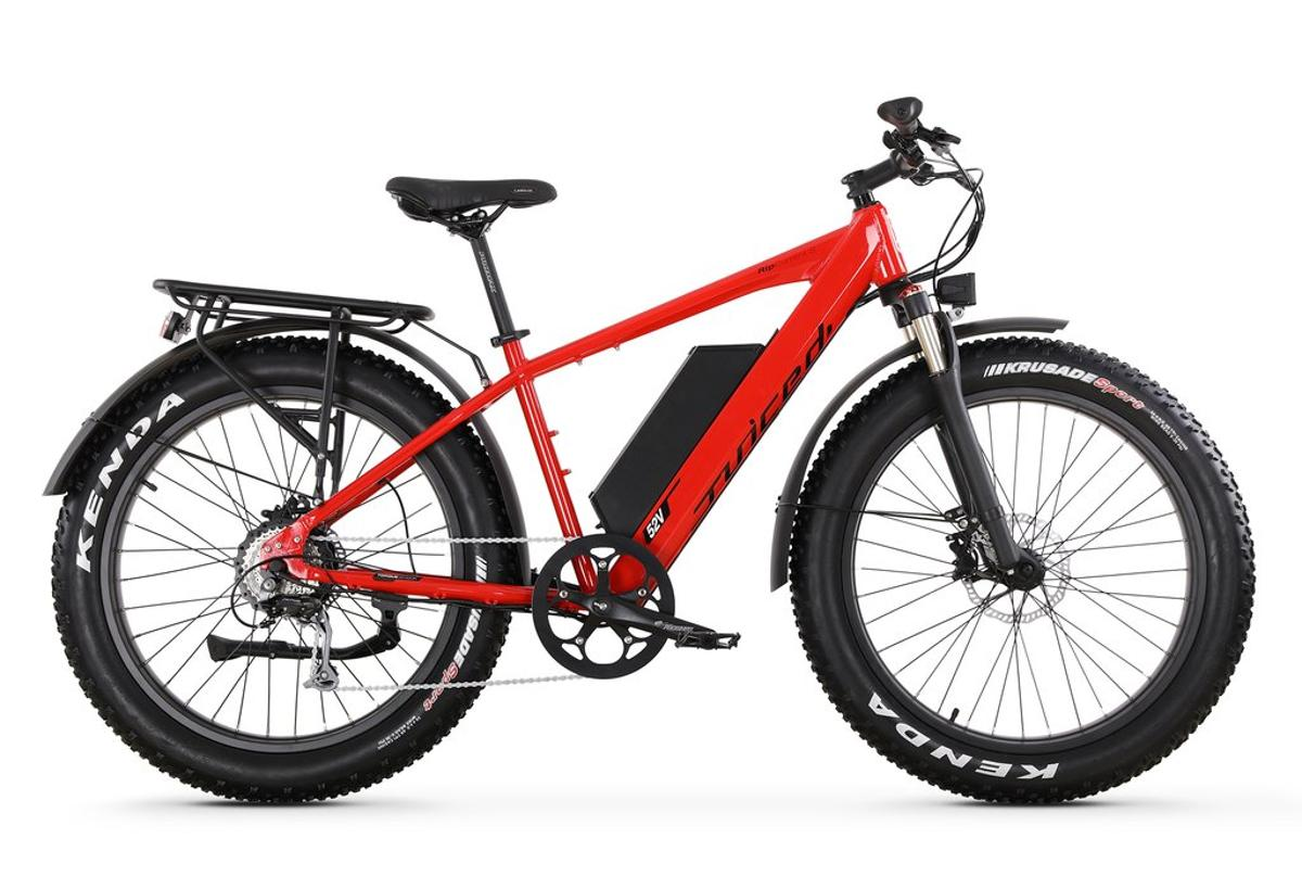 The Juiced RipCurrent S is afully loaded fat-tire commuter ebike at a terrific price