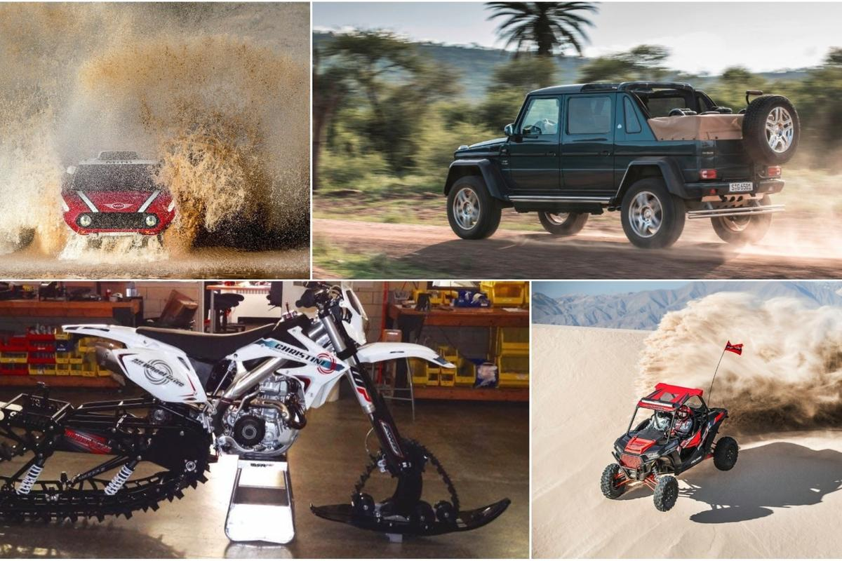 Off-road vehicles of 2017