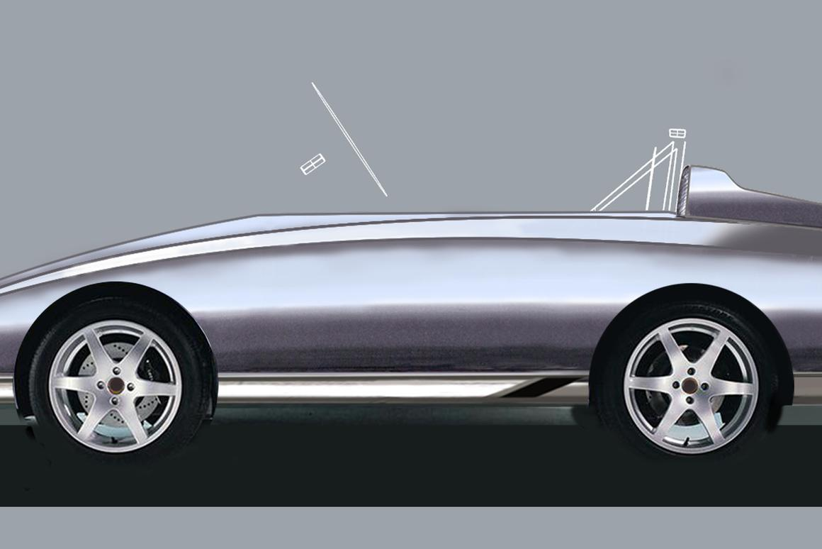 An artist's rendering of the training car that Young Driver will use for kids 5 to 10 years old