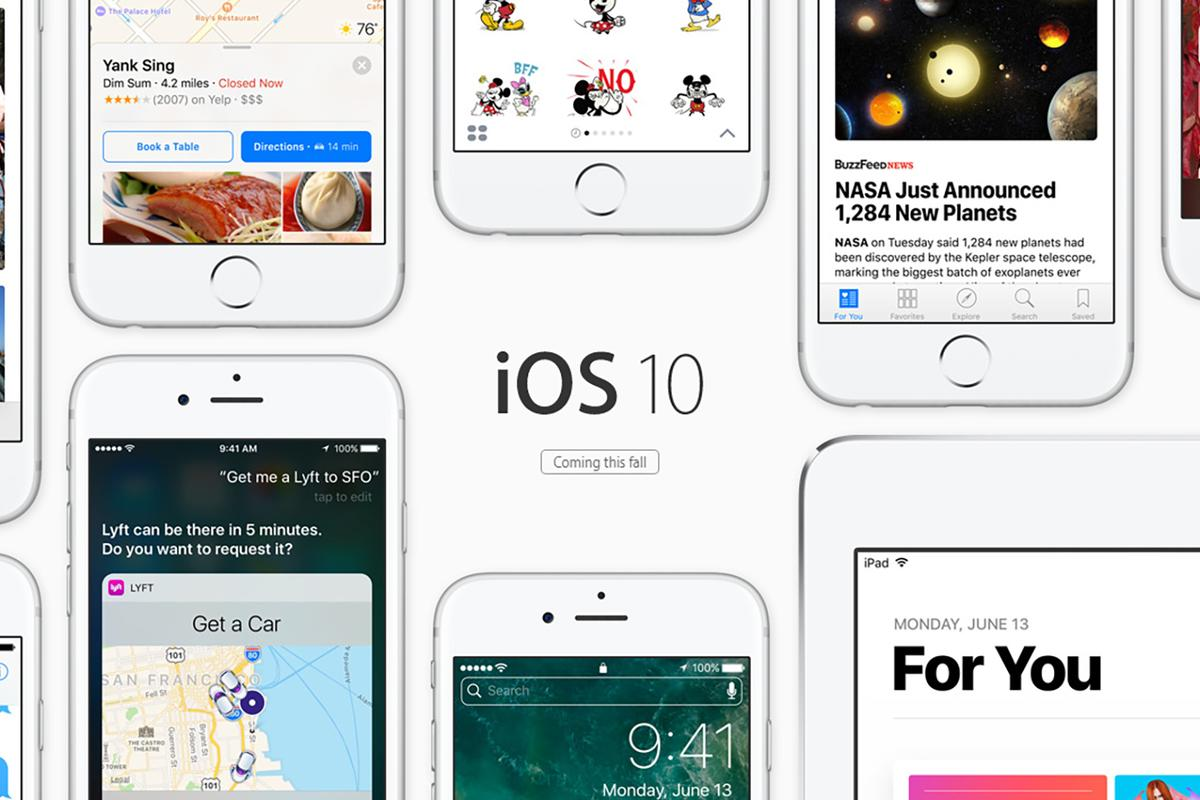 Apple has announced iOS10, which will be available later this year