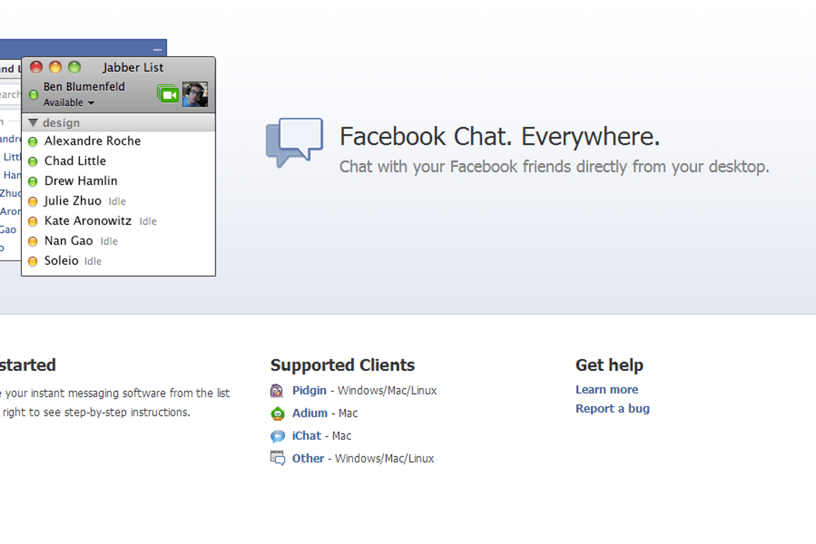 Alternatives to Facebook Messenger for desktop