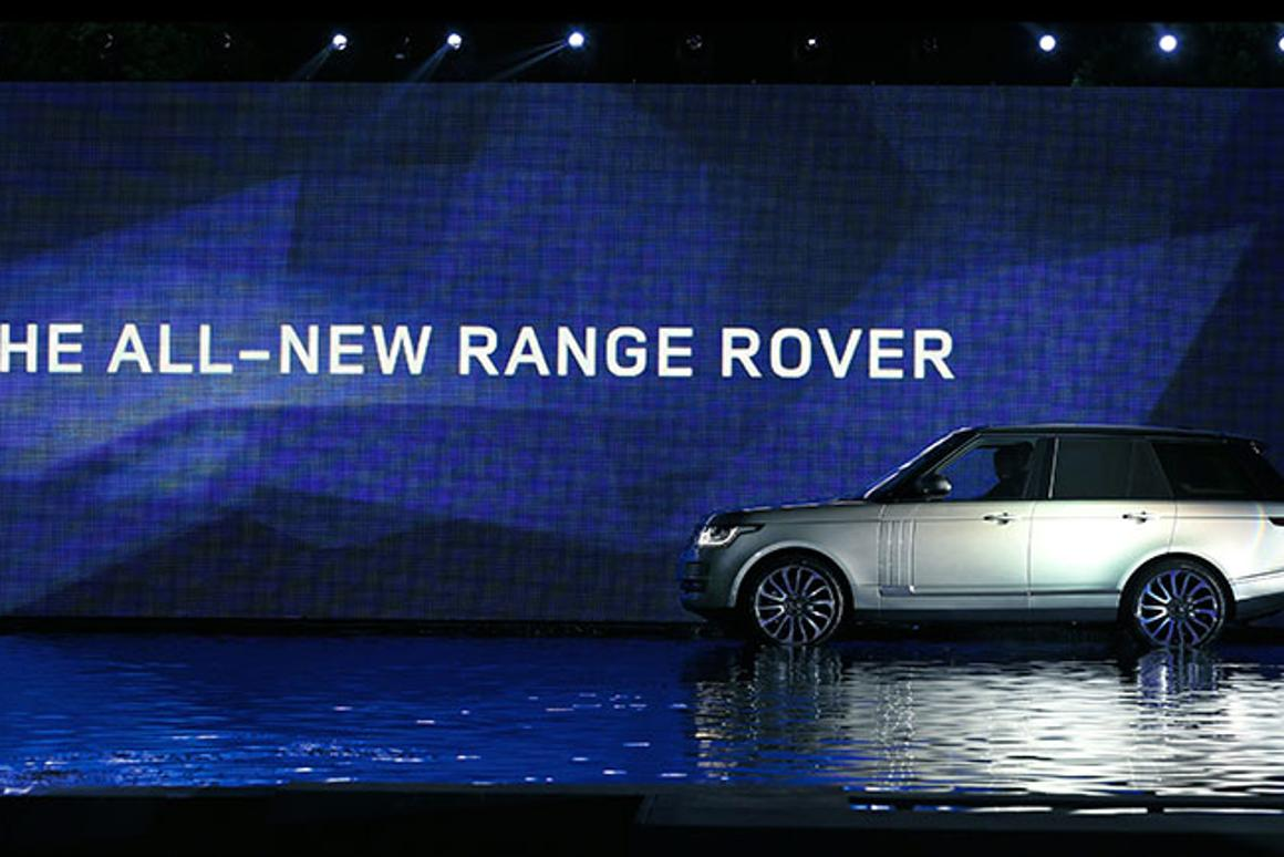 Last night's official 2013 Range Rover reveal in London
