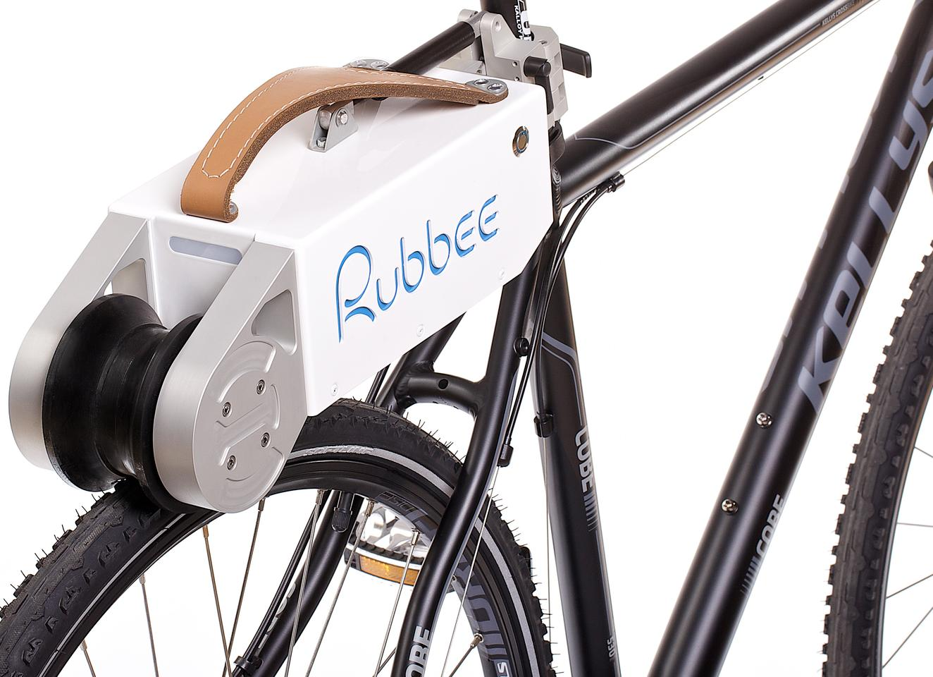 The Rubbee is waterproof, and features aluminum construction
