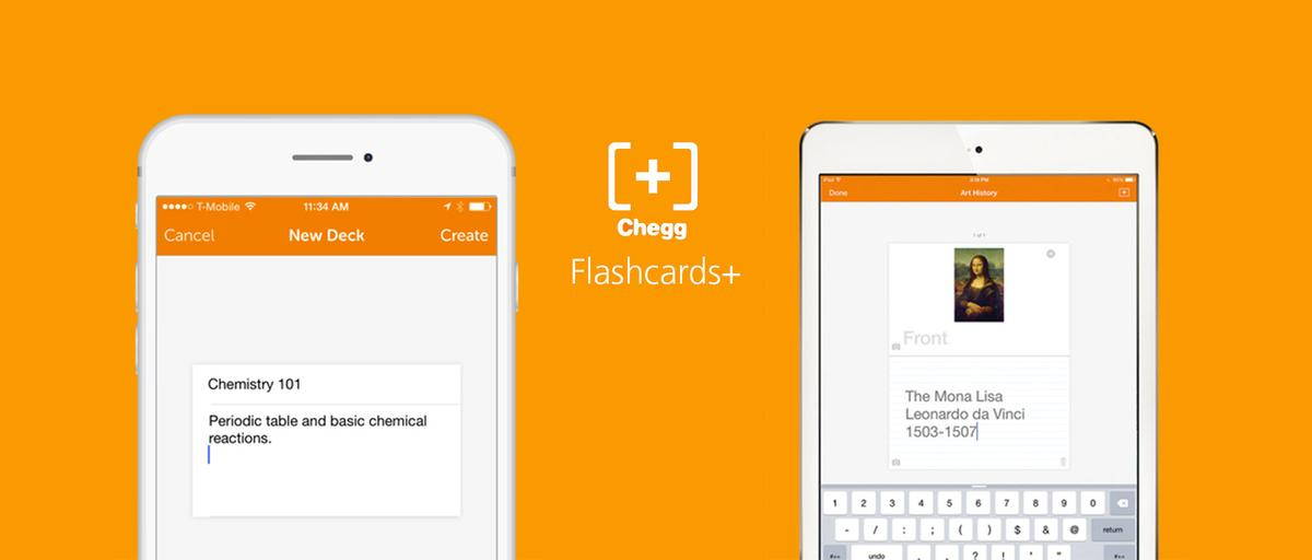 Flashcards+ app for digital customizable flashcards
