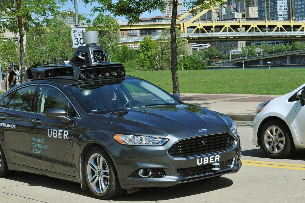 Uber will use a hybrid Ford Fusion fitted with radars, laser scanners and high-resolution cameras for the tests