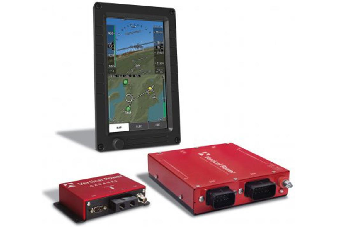 The Vertical Power VP-400 is designed to locate your best emergency runway option and get you safely there